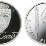 Minah Canth and Equality €10 Silver Coin from the Mint of Finland