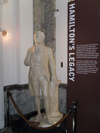 Alexander Hamilton statue