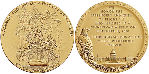 flight 93 medal