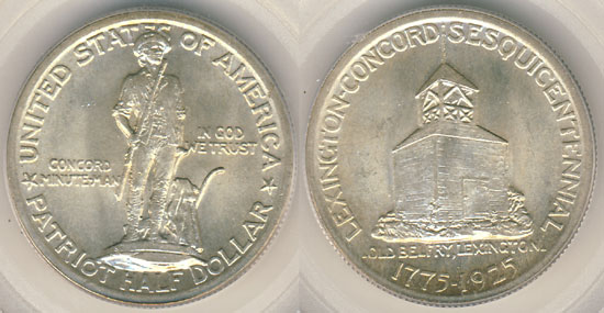 Lexington Concord Half Dollar