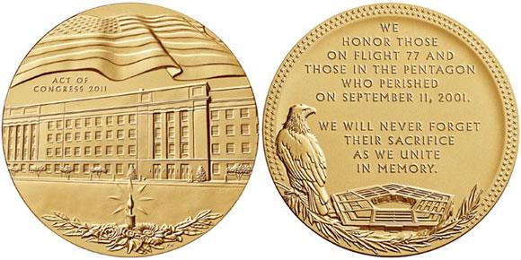 pentagon medal
