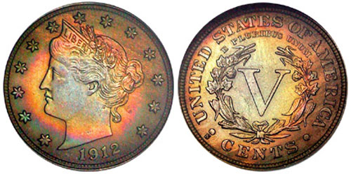 1912-s Liberty Nickel