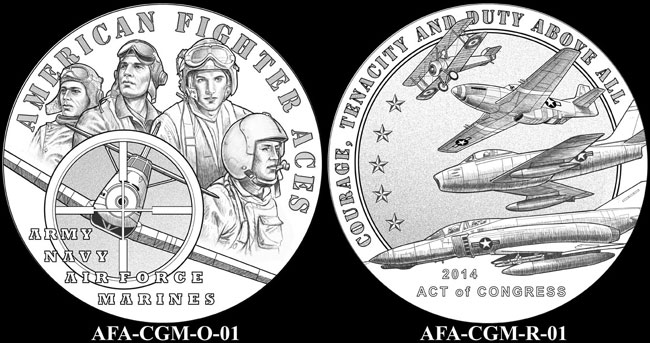 American Fighter Aces Congressional Gold Medal