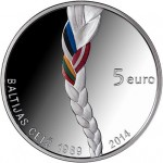 """Baltic Way"" Remembered on New Latvian Commemorative Coin"