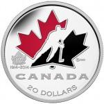 100th Anniversary of Hockey Canada 1 oz. Fine Silver Coin