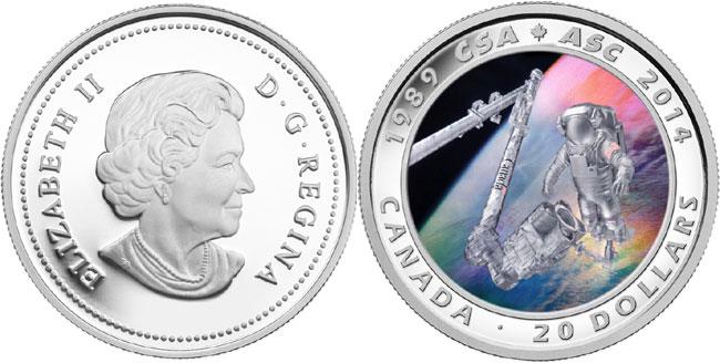 CSA Anniversary Coin