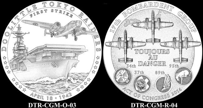 Doolittle Tokyo Raiders Medal