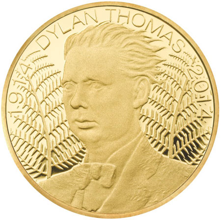 Dylan Thomas Gold Coin