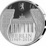 Belgium 25th Anniversary of the Fall of the Berlin Wall Silver Coin