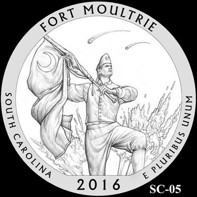 Forr Moultrie National Monument Quarter