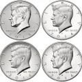 Kennedy Half Dollar Silver Coin Collection