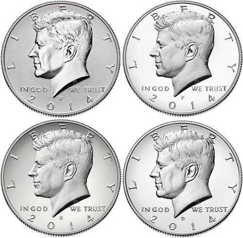 Kennedy Half Dollar Silver Coin Collection