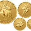 2015 Gold Maple Leaf Fractional Set