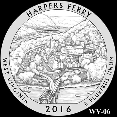 Harpers Ferry National Historical Park Quarter