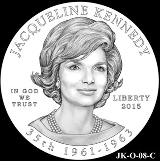 Jacqueline Kennedy First Spouse Gold Coin