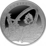 Latvian Collector Coin Honors Gotthard Friedrich Stender