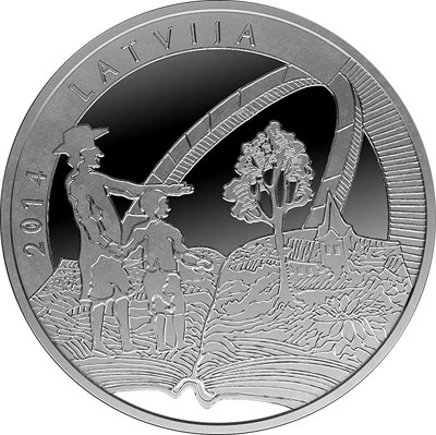 Gotthard Friedrich Stender Silver Coin