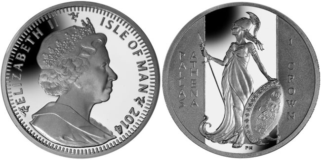 2014 Isle of Man Palladium Coin