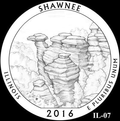 Shawnee National Forest Quarter