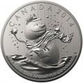 Canadian Snowman $20 Silver Coin