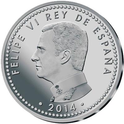Spain Felipe VI Silver Coin