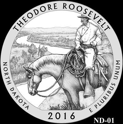 Theodore Roosevelt National Park Quarter