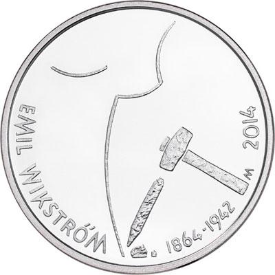 Emil Wikström Silver Coin