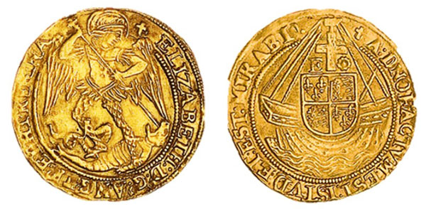 Elizabeth-I-angel-coin