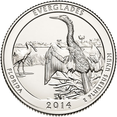 Everglades National Park Quarter