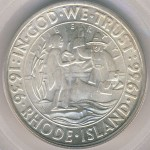 1936 Rhode Island Commemorative Half Dollar