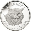 Ultra High Relief Lynx Silver Coin