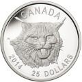 Ultra High Relief Lynx Silver Coin