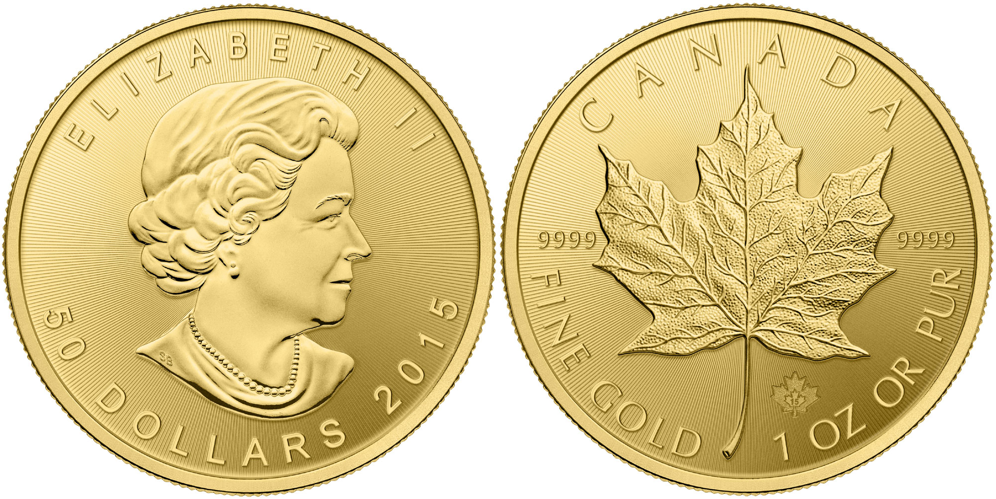 2015 Gold Maple Leaf
