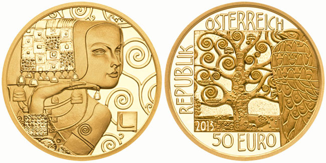 Australian Mint Klimt Expectation Gold Coin