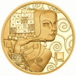 "Austria's Klimt and His Women ""The Expectation"" Gold Coin Wins Coin of the Year"