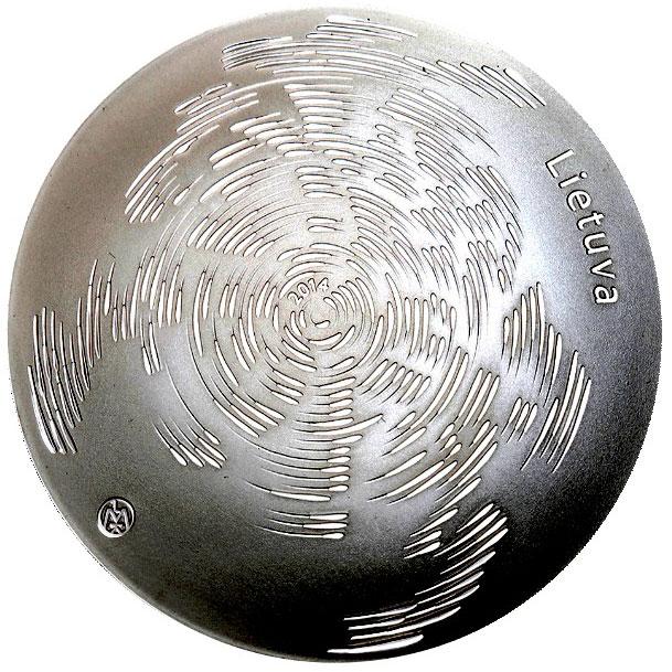 Lithuanian Litas Silver Coin