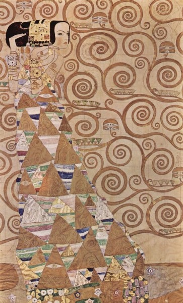 the expectation Klimt