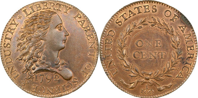 1792 Birch Cent Pattern