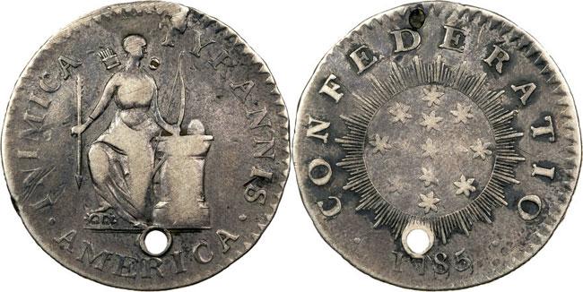 1785 Inimica Tyrannis America, Confederatio