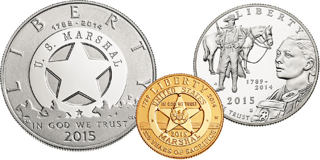 US Marshals Commemorative Coins