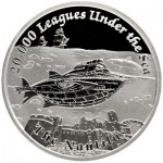 The Nautilus Featured in Famous Ships That Never Sailed Coin Series