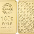 Royal Mint Refinery 100 Gram Gold Bar