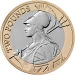 Britannia Two Pounds