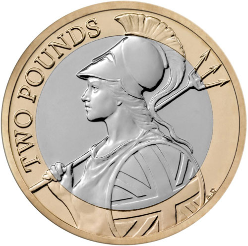 Britannia Two Pounds