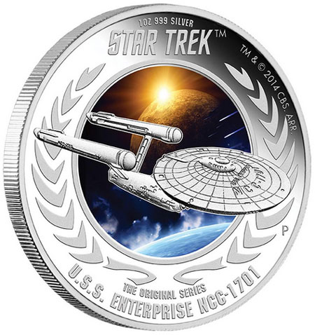 Star Trek Enterprise Coin