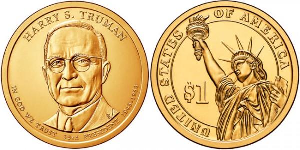 1 доллар джеймс нокс полк - 11-й президент сша (p - филадельфия)