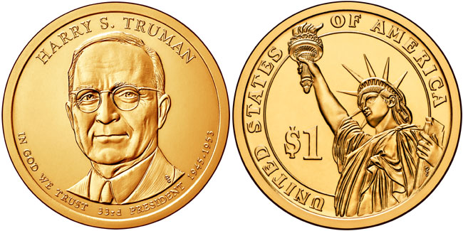 Harry S. Truman Presidential Dollar