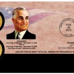 Harry S. Truman Coin Cover