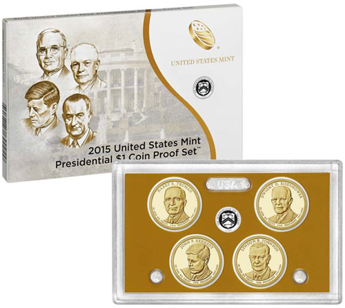2015 Presidential Dollars Proof Set