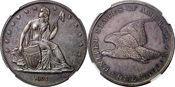 1838 Gobrecht Dollar